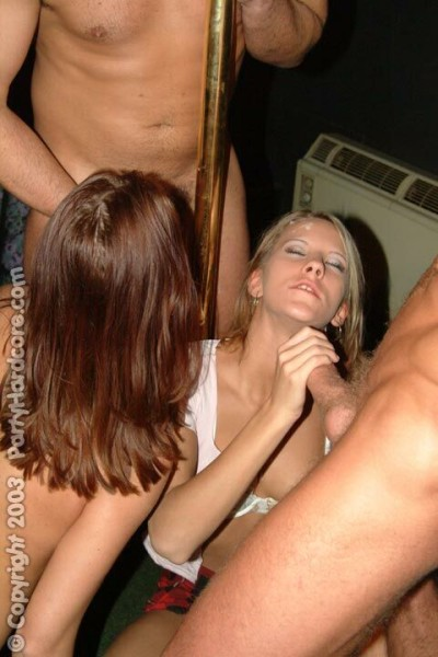 Clothed hand job woman