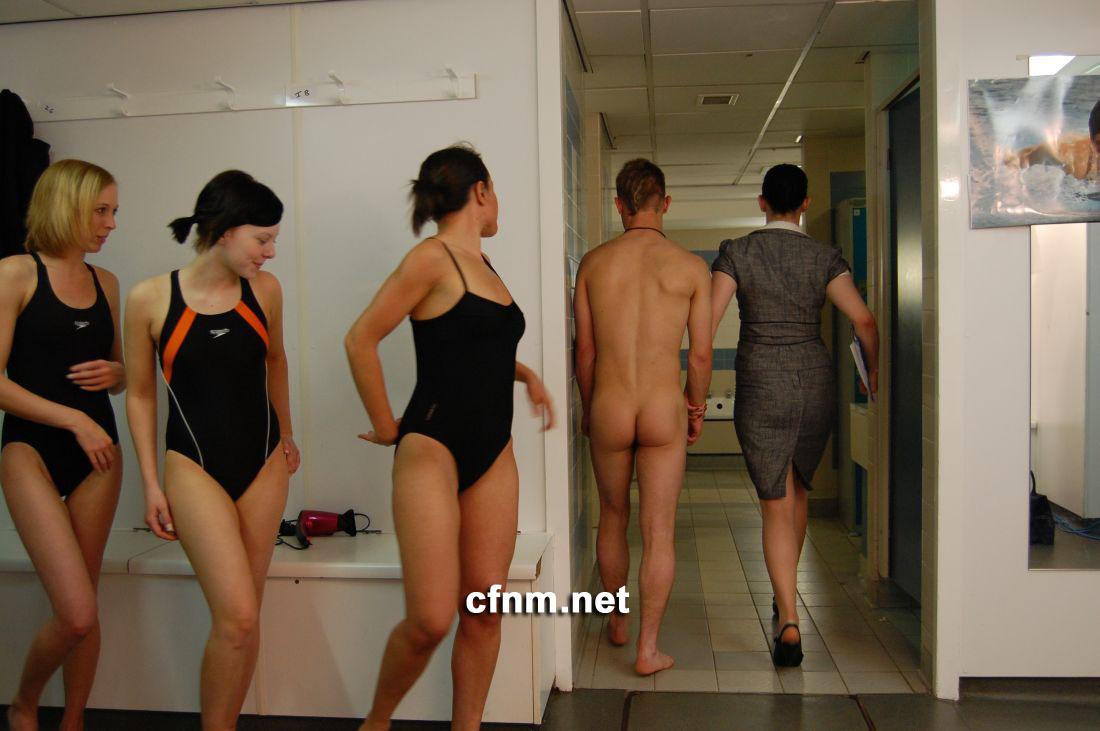 Sex in swimming trunks