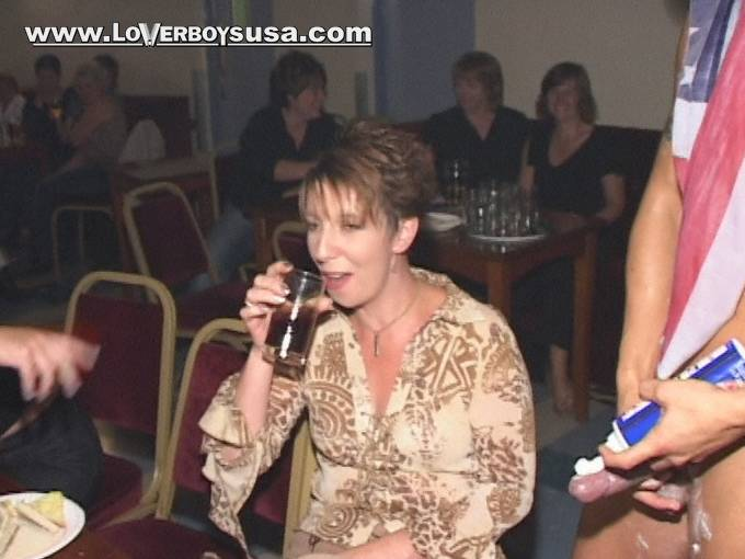 CFNM - LOVERBOY USA - CLOTHED FEMALE NAKED MALE